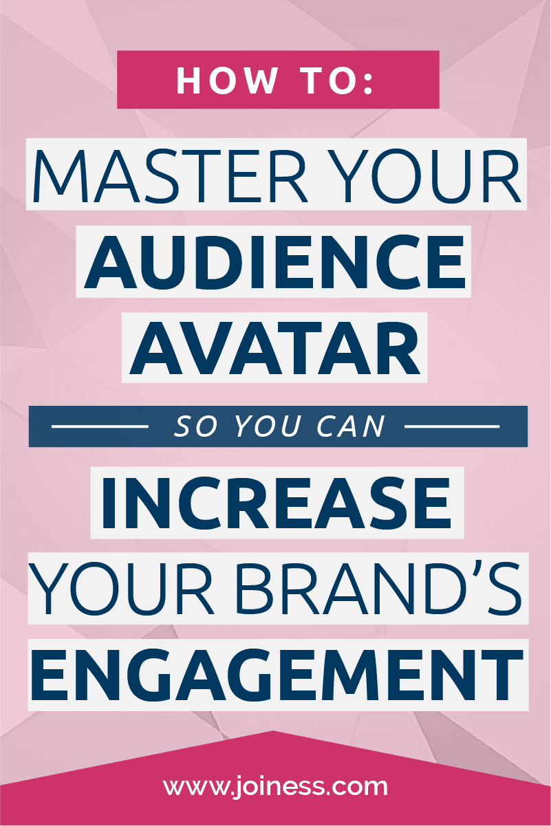 It is incredibly important to master your customer avatar in order to be able to hyperfocus your communication and increase engagement with your brand.