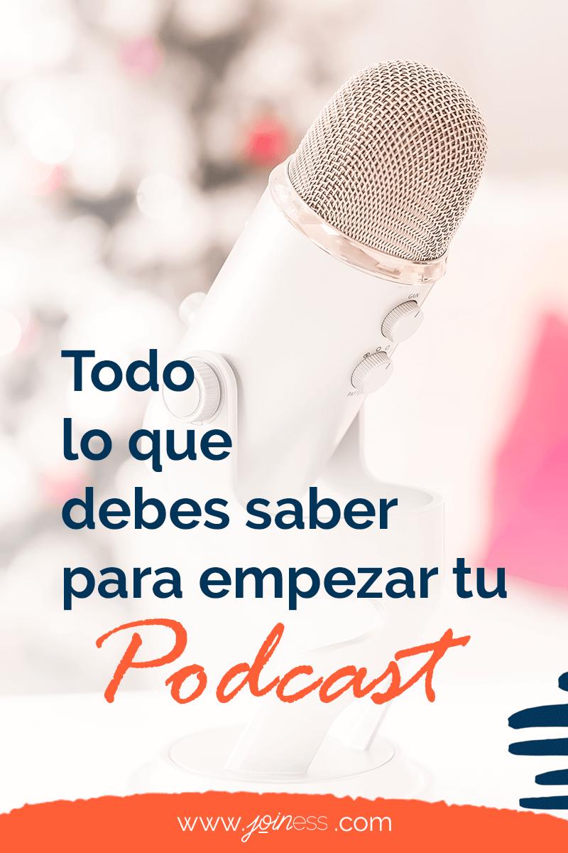 cómo empezar tu propio podcast