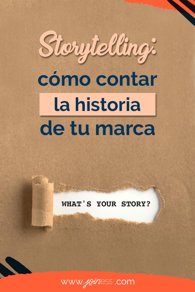 Cómo contar la historia de tu marca