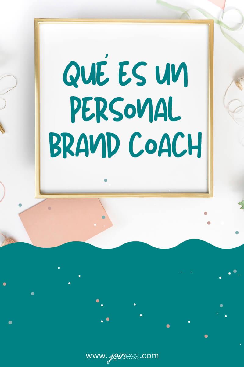 Qué es un personal brand coach